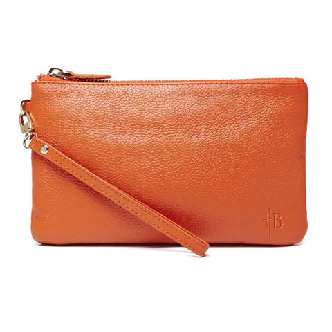 Handbag Butler NEW Mighty Purse Wristlet - Tangerine Orange