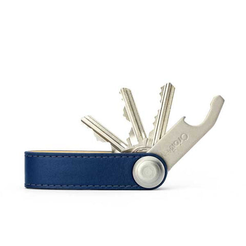 Orbitkey Leather - Navy