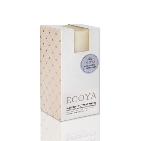 Ecoya Soy Melts - Coconut and Elderflower