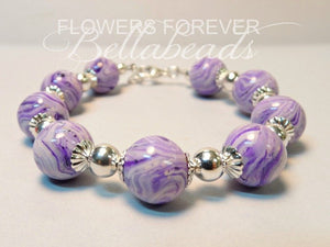 Harmony Bracelet - Memorial Jewelry Made From Flower Petals