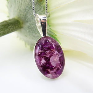 Pendants - Flower Petal, Memorial, and Cremation Jewelry
