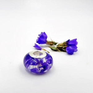 Charm Beads- Flower Petal, Memorial, and Cremation Jewelry