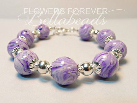 Memorial Jewelry - Bracelet Made From Flower Petals - My Flowers Forever