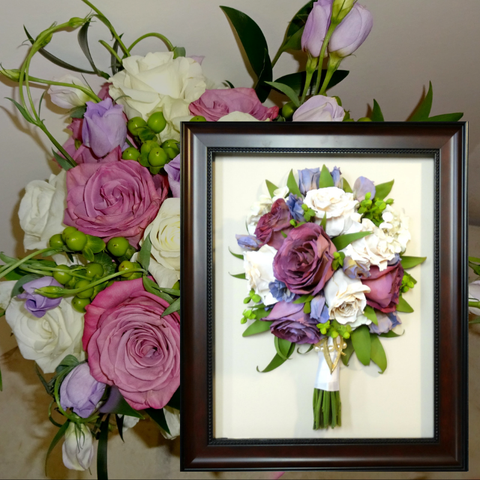 11 x 14 Wedding Bouquet Preserved