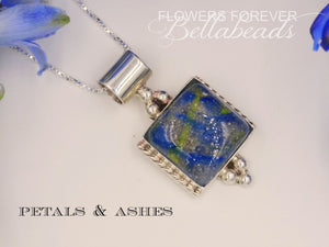 Flower Petal Jewelry, Cremation, Astrid Pendant