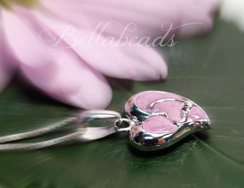 Flower Petal Jewelry, Straight From The Heart Pendant