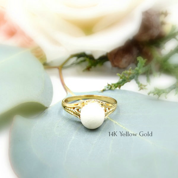 Isabella Yellow Gold Ring