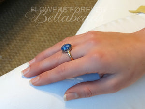 Flower Petal Jewelry, Karbella 14k Gold Ring