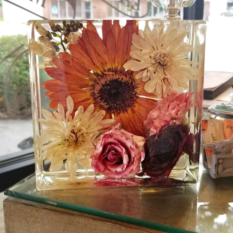 Resin Square Keepsake