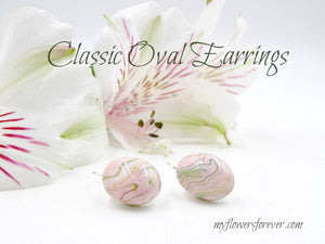 Classic Oval Earrings