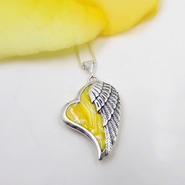 Heart of an Angel Pendant