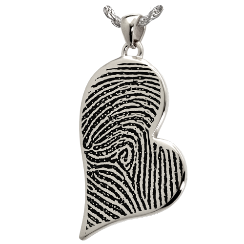 Teardrop Heart Pendant