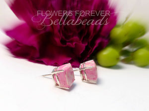 Memorial Jewelry made from Flower Petals, Jessica Earrings