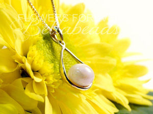 Flower Petal Jewelry, 14K Gold Mia Teardrop Pendant