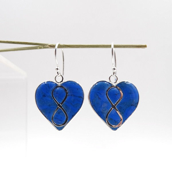 Infinity Heart Earrings