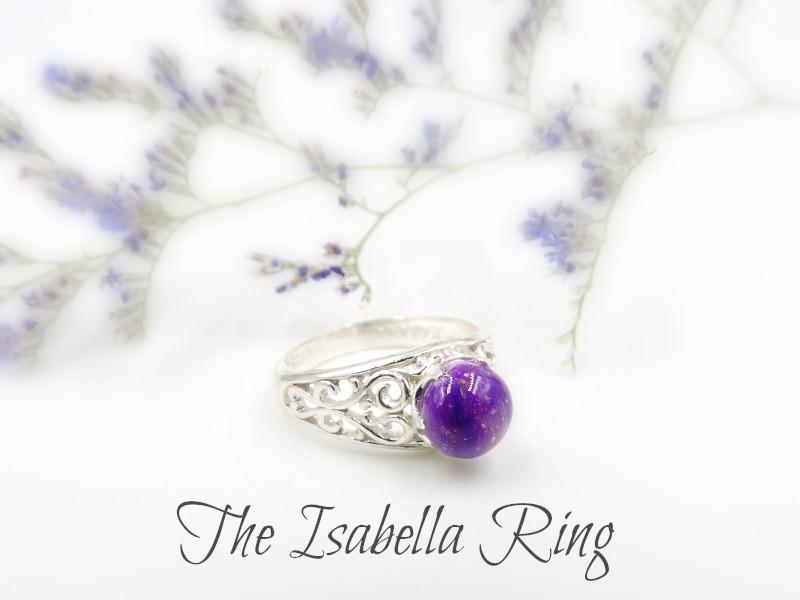 Isabella Sterling Silver Ring