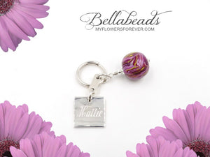 Key Chain with Monogram