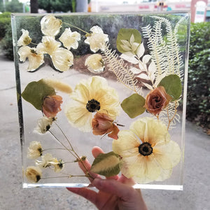 Resin 10 x 10 x 1 Keepsake Design