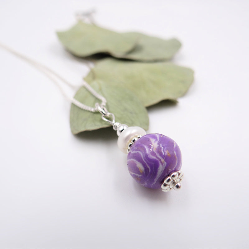 Flower Petal Earrings made with your flowers, Pearl jewelry