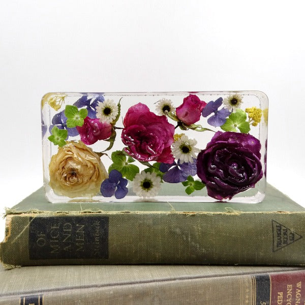 Resin Rectangle Paperweight