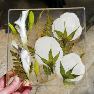 Pressed Resin Keepsake Design