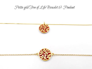 Petite Gold Tree of Life Bracelet