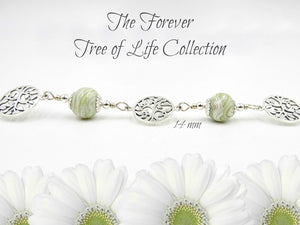 The Forever Tree of Life Sterling Silver Bracelet