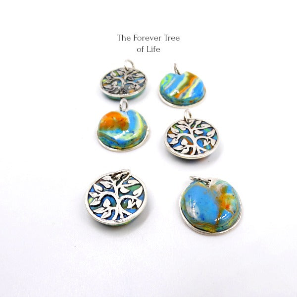 The Forever Tree Of Life Sterling Silver Pendant