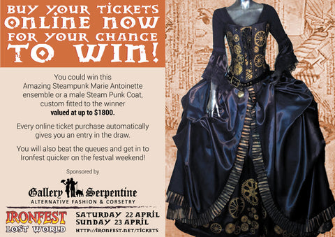You can win this Gallery Serpentine original design made to measure