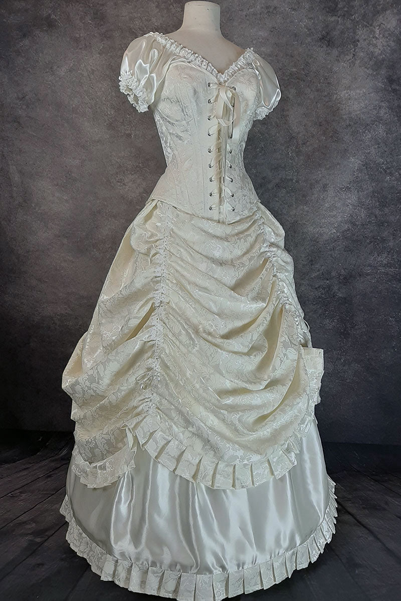 Victorian Alicia Wedding Gown, made to order