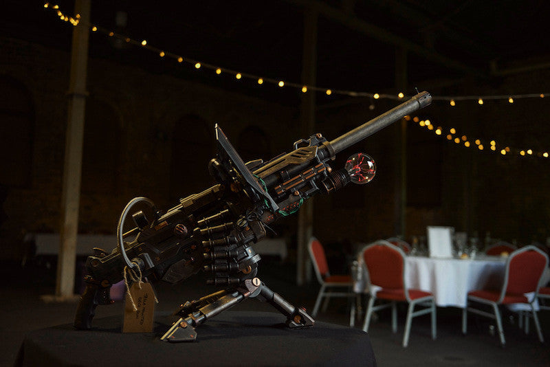 steampunk tesla gun by Skavs Steampunk Workshop