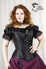 new corset style from Gallery Serpentine featuring front lacing and cups
