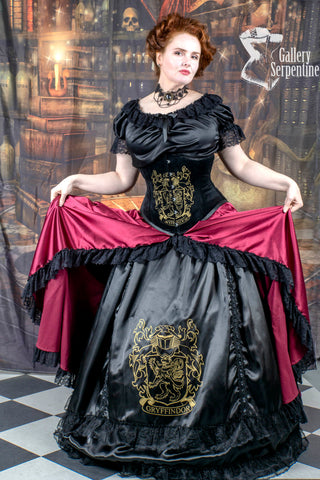 Victorian Inspired by Gryffindor Corset