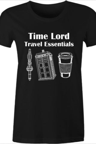 Women's Time Lord Essentials T-shirt