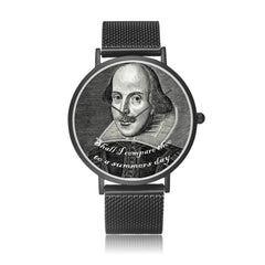 shakespeare printed digital watch high quality comes in 3 sizes and 3 colours
