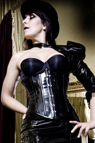PVC Underbust Victorian Corset, made to order