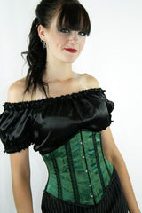 victorian classic under corset blouse chemise flattering to upper arms