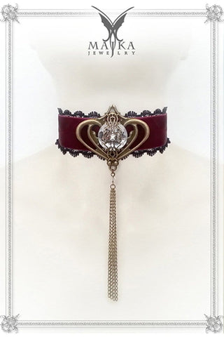 Choker of the Magnificent Satine, made to order