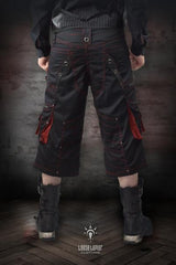 Holster Shorts with Red Feature - Gallery Serpentine  - 4