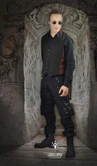 Best ever gothic cargo pants with 10 useable pockets popular for goth, steampunk, festivals
