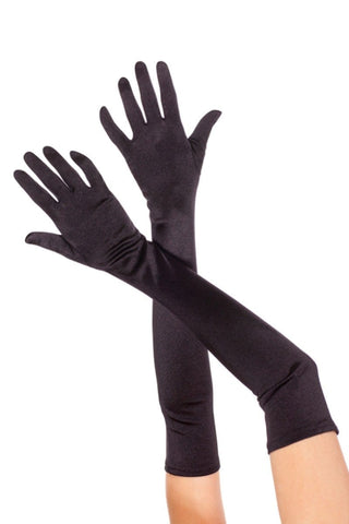 Satin Opera Gloves