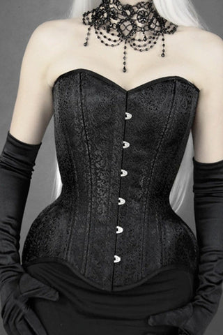 Brocade Overbust Corset, size 12 only