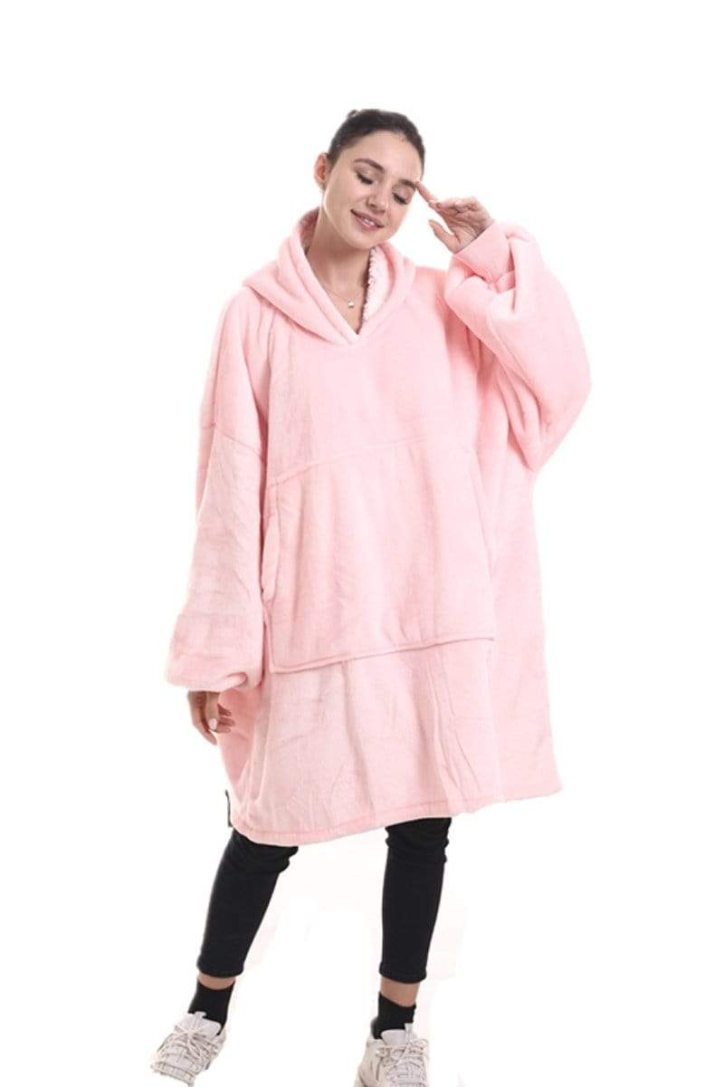 The Marshmallow Hoodie in Soft Pink