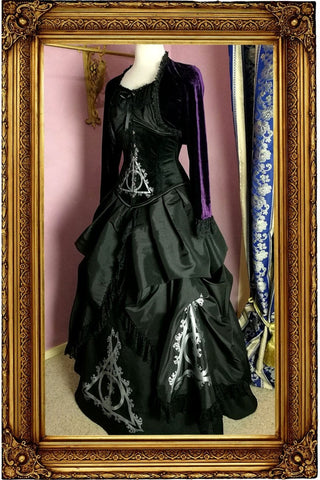 Deathly Deathly Hallows Corset Gown