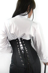 steel boned custom made corporate shapewear corset for under clothing australian made