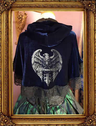 Inspired by Ravenclaw House Cape