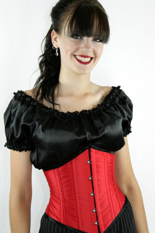 Scarlet Pointy Cincher, made to order