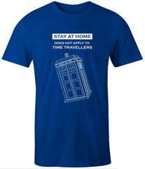 because Iso 2020 sucks we need the Dr, funny meme tshirt for Dr Who fans , mens sizes in police box blue with white text and police box graphic