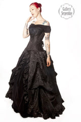 Dark Queen Wedding Dress flatters all figures made in Australia