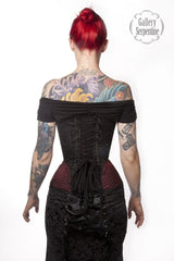 Ruby Turn of the Century Corset - Gallery Serpentine  - 3